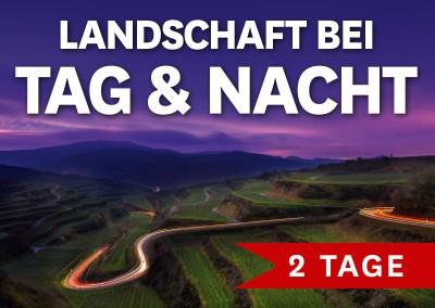LANDSCHAFT BEI TAG & NACHT