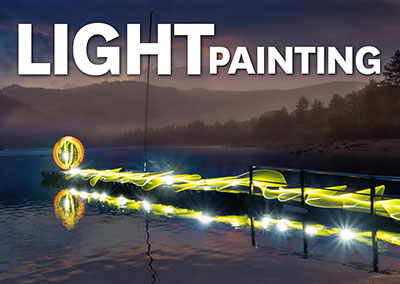 Lightpainting in der Natur