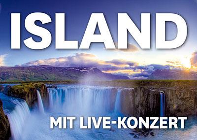 ISLAND MIT LIVE-KONZERT
