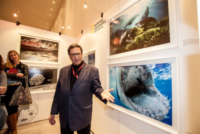 David Doubilet Ausstellungseröffnung