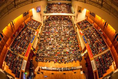 Rolf-Böhme-Saal mit 1750 Plätzen