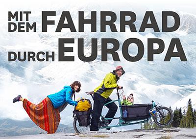 AUF TOUR - Mit dem Lastenfahrrad durch Europa