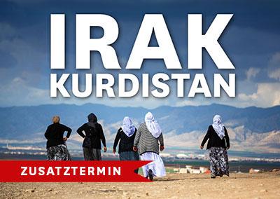 IRAK - KURDISTAN Zusatztermin