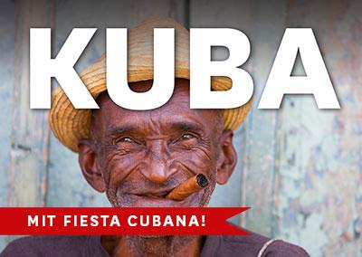 KUBA mit Fiesta Cubana