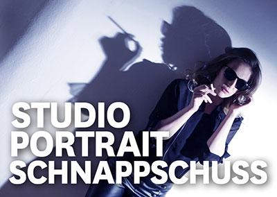 Studioportrait - Schnappschuss