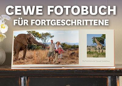 CEWE Fotobuch für Fortgeschrittene